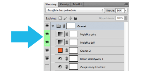 filtry kolorystyczne - obróbka zdjęć