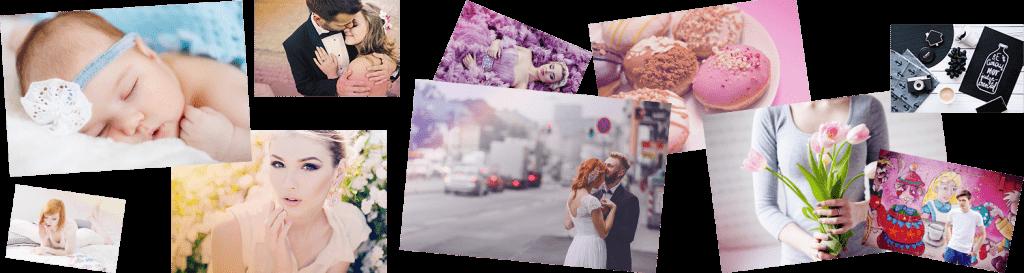filtry kolorystyczne - akcje do Photoshopa