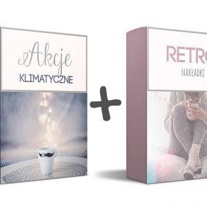 akcje do Photoshopa i retro nakładki | pakiet